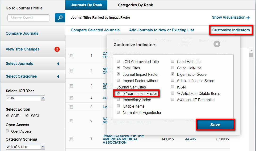 選取 Customize Indicators,勾取所需的指標,按儲存後即可在頁面顯示;指標設定步驟僅需設定一次,之後每次登入皆有效