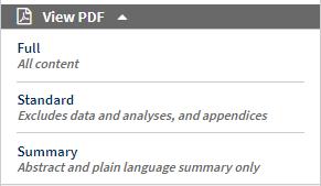提供三種不同內容的PDF檔