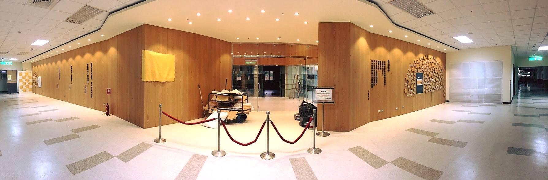 醫圖形象大廳改造已接近完工
