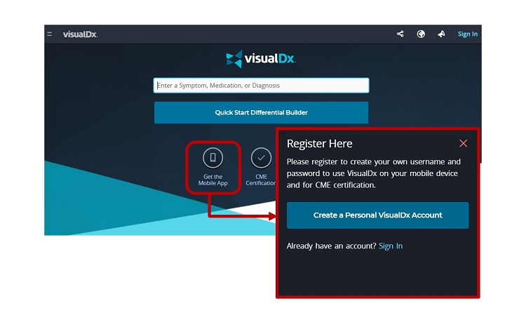 VisualDX APP安裝1